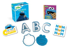 Sesame Street: Cookie Monster Cookie Cutter Kit