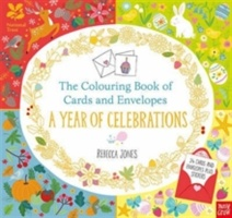 National Trust: The Colouring Book Of Cards And Envelopes: A Year Of Celebrations