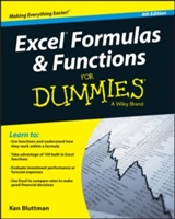 Excel Formulas And Functions For Dummies, 4th Edition