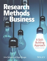 Research Methods For Business: A Skill Building Approach 7e With Wileyplus Learning Space Card Set