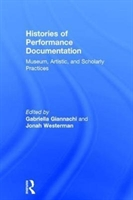 Histories Of Performance Documentation