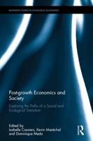 Post-growth Economics And Society