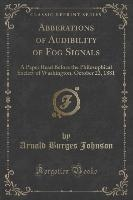 Abberations Of Audibility Of Fog Signals
