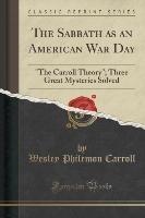 Sabbath As An American War Day