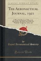 Aeronautical Journal, 1921, Vol. 25