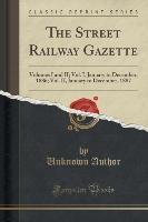 Street Railway Gazette
