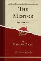Mentor, Vol. 2