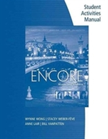 Student Activities Manual (print On Demand For Students) For Wong/weber-feve/lair/vanpatten's Encore Intermediate French: Niveau Intermediare