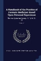 Handbook Of The Practice Of Forensic Medicine