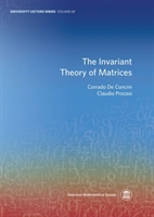 Invariant Theory Of Matrices