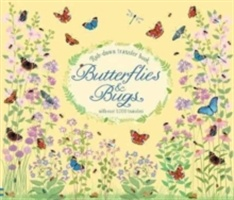 Rub-down Transfer Book Butterflies And Bugs