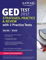 Ged Test 2017 Strategies, Practice & Review With 2 Practice Tests