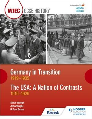 Cbac Tgau Hanes Yr Almaen Mewn Cyfnod O Newid 1919-1939 Ac Uda: Gwlad Gwahaniaethau 1910-1929