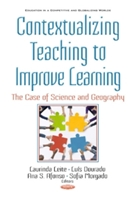 Contextualizing Teaching To Improving Learning