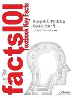 Studyguide For Psychology By Kowalski, Robin M., Isbn 9780470913604