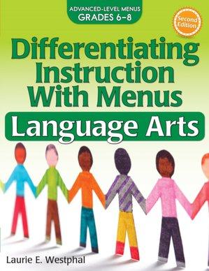 Differentiating Instruction With Menus Language Arts