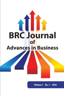 Brc Journal Of Advances In Business, Volume 3 Number 1