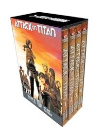 Attack On Titan Season 1 Part 1 Manga Box Set