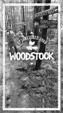 Woodstock Lined Journal Groovy Way