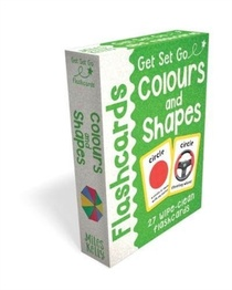 Get Set Go: Flashcards - Colours And Shapes