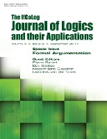 Ifcolog Journal Of Logics And Their Applications Volume 4, Number 8. Formal Argumentation