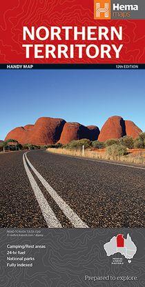 Hema Northern Territory State 1 : 1.750.000