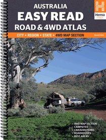 Australia Easy Read Road and 4WD Atlas