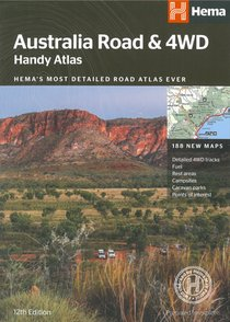 Australia Road And 4wd Handy Atlas B5 Spiral