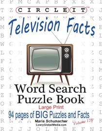 Circle It, Television Facts, Word Search, Puzzle Book