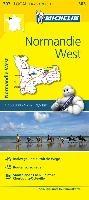 Michelin Localkarte Normandie West 1 : 150 000