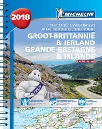 Atlas Michelin Groot Brittannie & Ierland 2018