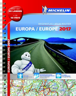 Atlas Michelin Europa 2017