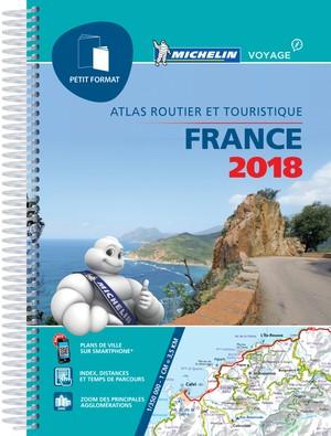Atlas Michelin (klein formaat) Frankrijk 2018