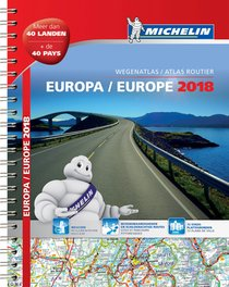 Atlas Michelin Europa 2018