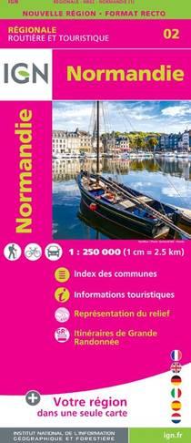 IGN Normandie 1:250 000