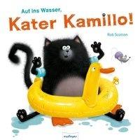 Auf ins Wasser, Kater Kamillo!