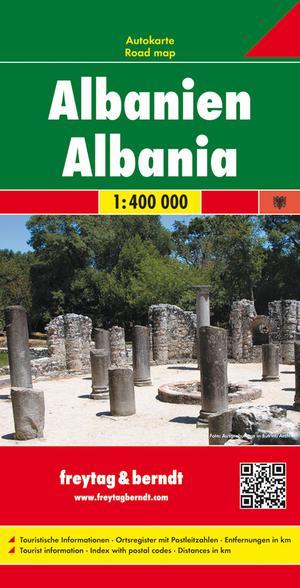 F&B Albanie Albania 1:400.000