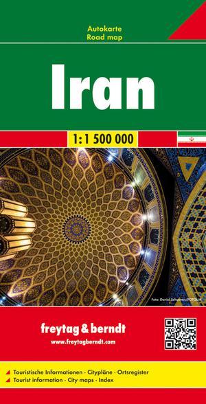 Iran,Autokarte 1:1.500.000