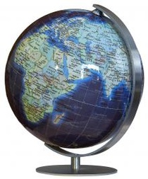 Duo Azzuro Mini Globe Columbus