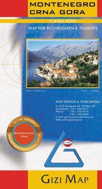 Gizi Montenegro &  Albani Noord 1:200.000 North Albania