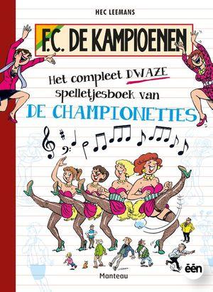 Het compleet dwaze spelletjesboek van de Championettes