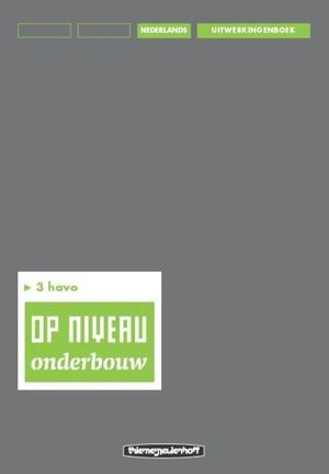 3 havo - Uitwerkingenboek/Lineair
