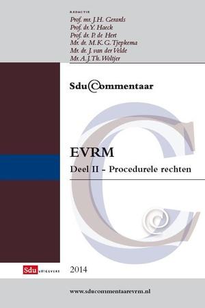EVRM - Deel II procedurele rechten