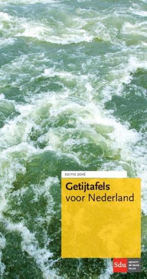 Getijtafels voor Nederland - 2016