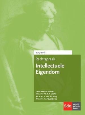 Rechtspraak intellectuele eigendom - 2017-2018