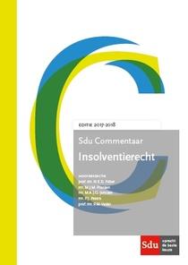 Sdu Commentaar Insolventierecht. Editie 2017-2018.