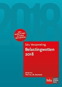 Sdu Verzameling Belastingwetten - 2018