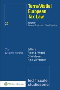 Terra/Wattel European Tax Law - 1 General Topics and Direct Taxation
