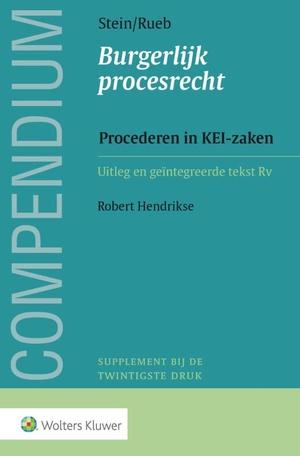 Compendium Burgerlijk procesrecht, Procederen in KEI-zaken