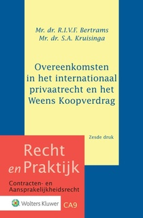 Overeenkomsten in het internationaal privaatrecht en het Weens Koopverdrag